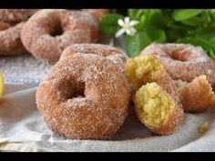 Donut Recipes, Cooking Recipes, Donut Decorations, Homemade Donuts, Sin Gluten, Cheesecake Recipes, I Love Food, Bagel, Doughnut