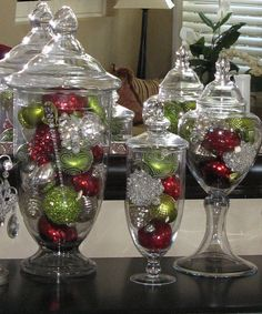 i need some of the apothecary jars so I can use them for each holiday.
