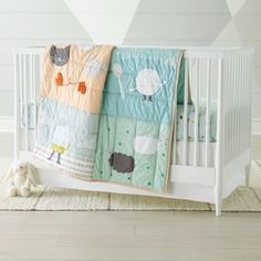 Shop Nursery Rhymes Crib Bedding. Featuring a baby quilt, crib fitted sheet and changing pad cover, our Nursery Rhymes Crib Bedding brings a selection of timeless scenes to life.