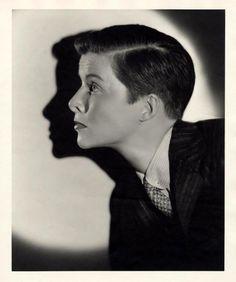 """Katharine Hepburn, photo by Ernest A. Bachrach for """"Sylvia Scarlett"""", 1935"""