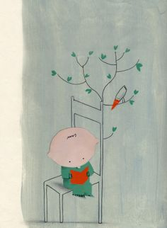 """Projet collectif """"L'enfance de tous les possibles"""": Illustration de Barroux"""