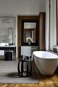 Aman Canale Grande Hotel at Palazzo Papadopoli Venice İtaly. [ MexicanConnexionForTile.com ] #bathroom #Talavera #handmade