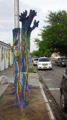 LOS PROCERES (2013)  #arte #arbolmuerto  #barquisimeto #cabudare #lara #raizabarros #raizamileva #venezuela