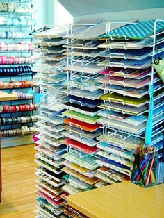 Invest In an Organization Rack for Cardstock -- YES! YES! YES!