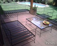 Muebles de hierro para jardin terraza balcony - Sofa terraza segunda mano ...