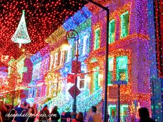 Why don't my Christmas decorations look like the Osborne Family Spectacle of Dancing Lights at Walt Disney World?!