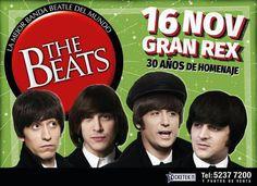 La banda Beatle por excelencia festeja sus 30 años de homenaje a The Beatles   Durante 3 décadas THE BEATS recreó la música de los cuatro fabulosos de Liverpool consiguiendo destacarse entre las miles de bandas existentes. Este verano fueron nominados a Mejor Musical en los Premios Estrellas de Mar 2017 y recientemente nombrados Personalidades Destacadas de la Cultura por la Legislatura Porteña. A mediados de este año THE BEATS presentó su libro  1 2 34! sobre The Beatles. El libro cuenta…