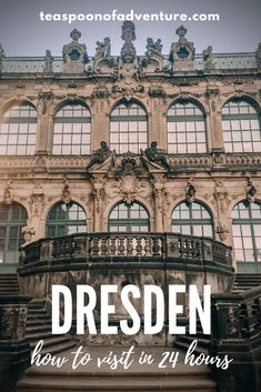 How to Visit Dresden in 24 Hours - Teaspoon of Adventure - Bucket List - Everything you need to know to visit Dresden, Germany for 24 hours – the perfect weekend trip! Cities In Germany, Visit Germany, Germany Castles, Germany Travel, Trekking, Dubai, Europe Travel Tips, Travel Destinations, Travel Photos