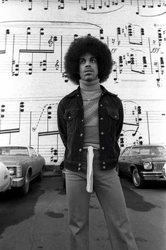 Remembering Prince! Here Are Some Rare Shots of 19-Year-Old Prince Rogers Nelson Outside Minneapolis' Old Schmitt Music Headquarters in 1977