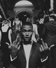 That dude Frank Ocean. Negative 7 fuxx given. Black And White Picture Wall, Black And White Pictures, Frank Ocean Wallpaper, Comme Des Freres, Mode Poster, Black And White Aesthetic, John Legend, Photo Wall Collage, Music Artists
