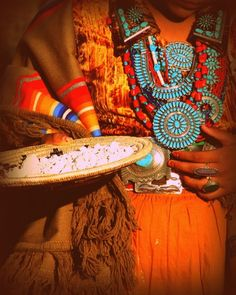 southwest native finery - turquoise and siver