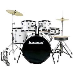 Ludwig Accent Fusion Drum Set with Hardware  Cymbals -- You can get more details by clicking on the image.Note:It is affiliate link to Amazon.
