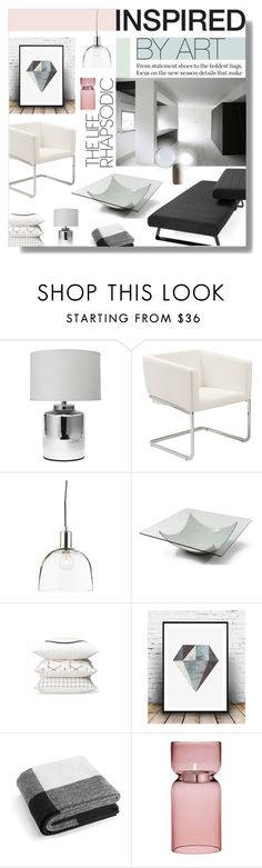 """Untitled #666"" by valentina1 ❤ liked on Polyvore featuring interior, interiors, interior design, home, home decor, interior decorating, Jamie Young, Crate and Barrel, Herman Miller and iittala"