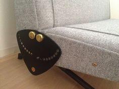 Elastique Zurich Vintage Borsani Sofa D70 Frisch Bezogen 3 - Hallingdal Kvadrat