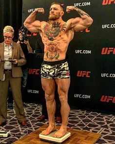 Conor McLesnar. Do MMA fans think the UFC champion go any higher in 170 pounds?  Www.imzy.com/everything_mma