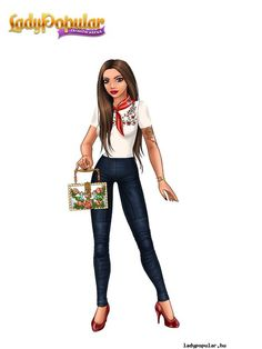 Coisas que Gosto: Popular Girl, Teenager Outfits, Fashion Games, Supermodels, Ideias Fashion, Chic, Lady, Paper Dolls, 1