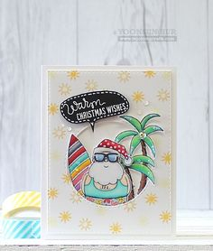 Adore this card created by Yoonsun Hur using Simon Says Stamp Exclusives.