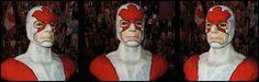 Captain Canuck Needle Felted Wool x x — 2015 by Dale Roberts Felted Wool, Wool Felt, Dale Roberts, Fibre Art, Felt Art, Needle Felting, Halloween Face Makeup, Superhero, Painting