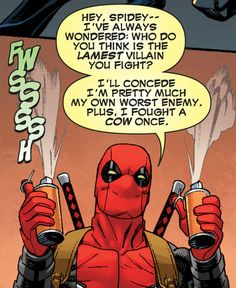 Deadpool #10 - He doesn't talk about the outcome of that fight...