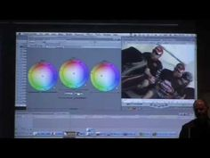 Final Cut Pro Colour Grading Seminar by Peter Cave (Part 8 of 9) - YouTube