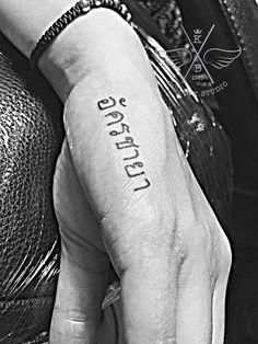 Thai Write#tattoo