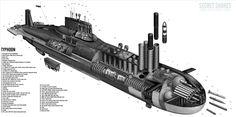 SSBN Typhoon Class (Type 941), Russia에 대한 이미지 검색결과