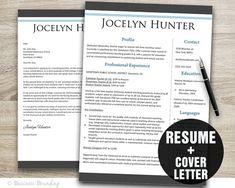 Timeless Resume Template Resume Cover Letter by BusinessBranding