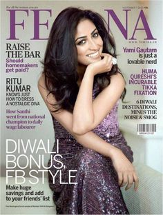 Yami Gautam (Vicky Donor's Star) on Femina Magazine November Issue