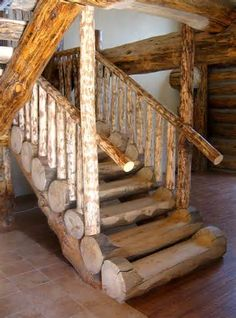 cabin staircase - - Yahoo Image Search Results