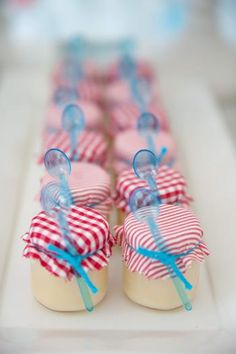 Party favor idea??  Make play dough? Hostess with the Mostess® - Little Blue Truck Birthday Party