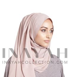 Light Mocha Rayon Hijab ll  100% non sheer and non-slip hijab, ideal for those who require perfect coverage all year.round.http://www.inayahcollection.com/light-mocha-rayon-hijab-p-1211.html