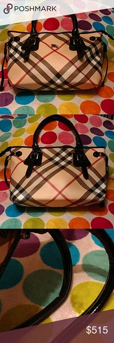 7eefe6dc8a0 Purse large burberry bag Purse large Burberry bag. Few small pen marks on  the bottom