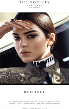 Kendall eyebrows