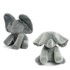 Play-And-Sing Gray Animated Ear Flapping Plush Elephant – Monkey Stuffed Animal Sing Animation, Interactive Toys, Clay Design, Cool Pets, Animal Quotes, Baby Gifts, Boy Or Girl, Singing, Plush