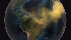 Epic amounts of dust. NASA video shows how massive amounts of dust travel from the Sahara to the Amazon
