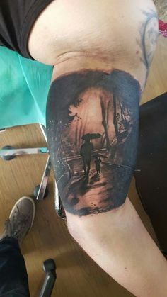 shadow remember memorial memory dad son father way tattoo idea ideas black ink
