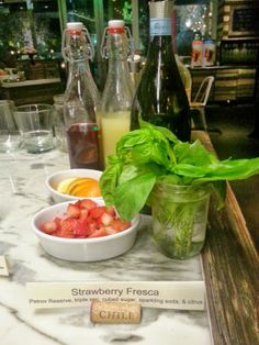 Head into Greenleaf to check out their new wine based cocktails. Read about them by clicking on link here!