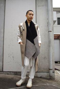 ストリートスナップ [大輝] | christopher nemeth, COMME des GARCONS | 原宿 | 2012年01月27日 | Fashionsnap.com
