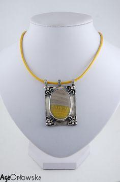 #pendant silver and jasper