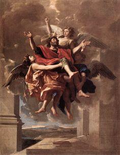 Nicolas Poussin - The Ecstasy of St Paul