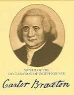 Carter Braxton was born on September 10, 1736, at Newington Plantation in Livingston, Virginia. He was the son of George Braxton, Jr., and of Mary Carter, who died just seven days after givi…