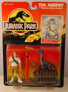 JURASSIC PARK TIM MURPHY ACTION FIGURE