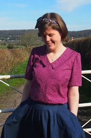 Nightingale & Dolittle: Sew Over It Susie Blouse