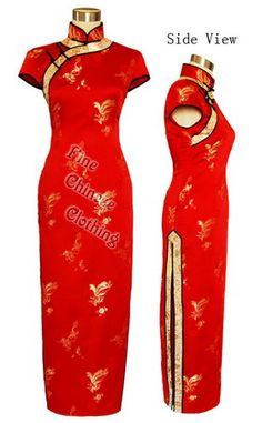 Big picture of Orient Festival Red Cheongsam