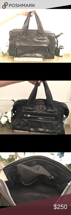 Gorgeous, authentic Chloe Tracey black bag! Gently used black leather Chloe Tracey bag! Excellent condition with truly minimal signs of wearing! Chloe Bags Satchels