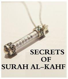"letssharestories: ""  ═✦════✦SECRETS OF SURAH AL-KAHF✦════✦═ ═✦════✦SECRETS OF SURAH AL-KAHF✦════✦═ Ever wondered why Prophet Muhammad(SAW) asked us to recite Surat Al-Kahf every Friday? Let's find out..."