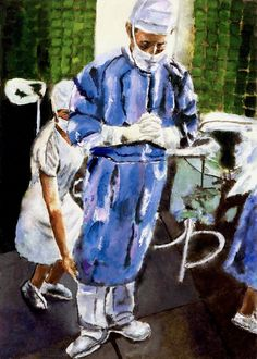 O CIRURGIÃO Um corpo inerte aguarda sobre a mesa Naquele palco despido de alegria. O artista das obras efêmeras se apresenta. A opereta começa, ausente de melodia E o mascarado mudo trabalha com pr…