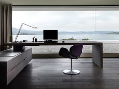 Love the office space, my Mac would block out most of the view though :p)