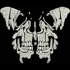 OregonPatchWorks.com - Sets - Skull Butterflies Mini kreations by kara