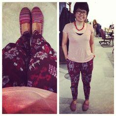 Batik Tenun pants from Indonesia.